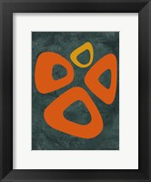 Framed Abstract Oval Shape 2