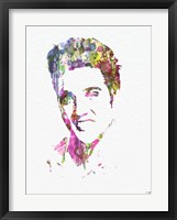 Framed Elvis Presley