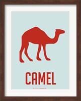 Framed Camel Red