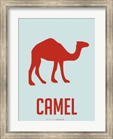 Framed Camel Red