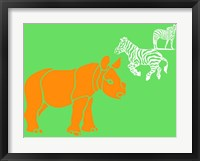 Safari 1 Framed Print