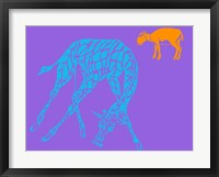 Safari 3 Framed Print