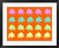 Safari 9 Framed Print