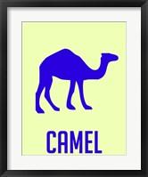 Framed Camel Blue