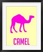 Framed Camel Pink