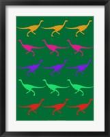 Framed Dinosaur Family 4