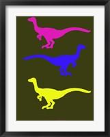 Framed Dinosaur Family 13