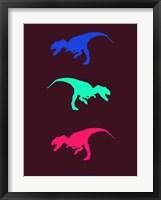 Framed Dinosaur Family 15