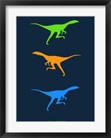 Framed Dinosaur Family 16