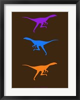 Framed Dinosaur Family 17