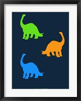 Framed Dinosaur Family 18