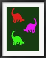 Framed Dinosaur Family 19