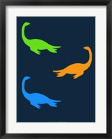 Framed Dinosaur Family 20