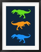 Framed Dinosaur Family 22