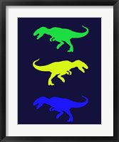 Framed Dinosaur Family 23