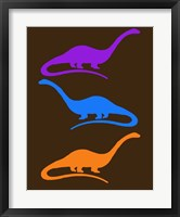 Framed Dinosaur Family 26