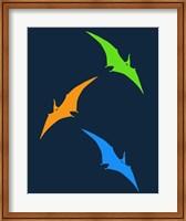 Framed Dinosaur Family 27