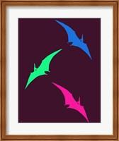 Framed Dinosaur Family 29
