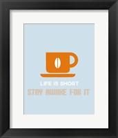 Framed Coffee Orange