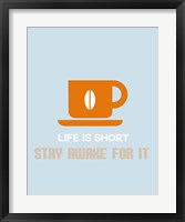 Framed Coffee Orange