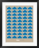 Framed Tea Lover Blue