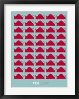 Framed Tea Lover Red