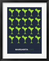Framed Yellow Margaritas