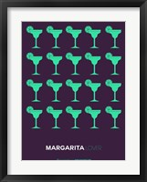 Framed Green Margaritas