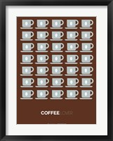 Framed Brown Coffee