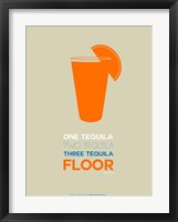 Framed Orange Tequila Shot