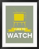 Framed I Like to Watch 1