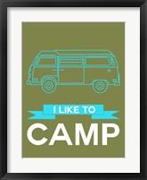 Framed I Like to Camp 3