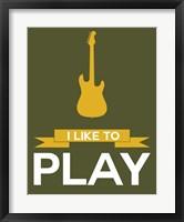 Framed I Like to Play 6