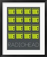 Framed Radiohead Yellow