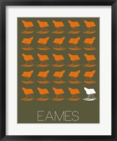 Framed Eames Rocking Chair 2