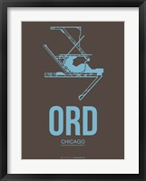 Framed ORD Chicago 2