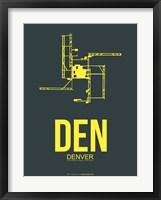 Framed DEN Denver 1