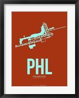 Framed PHL Philadelphia 2
