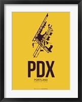 Framed PDX Portland 3