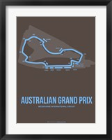 Framed Australian Grand Prix 2