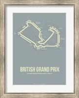 Framed British Grand Prix 1
