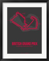 Framed British Grand Prix 2