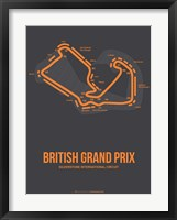 Framed British Grand Prix 3