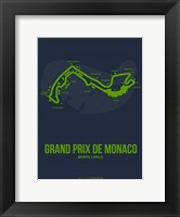 Framed Monaco Grand Prix 2