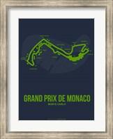 Framed Monaco Grand Prix 2