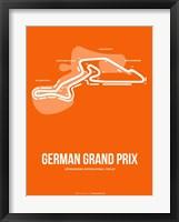 Framed German Grand Prix 3
