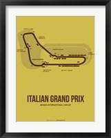 Framed Italian Grand Prix 1