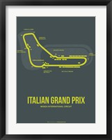 Framed Italian Grand Prix 2