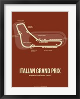 Framed Italian Grand Prix 3