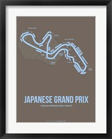 Framed Japanese Grand Prix 1